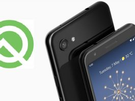 Google Pixel 3A Android q update