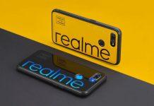 Realme 5G smartphone