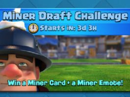 Clash Royale Miner Draft Challenge