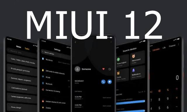Xiaomi MIUI 12 update phones list