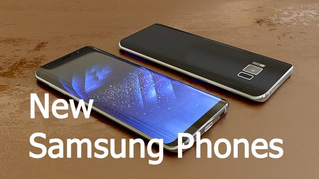 Upcoming Samsung mobile phones new