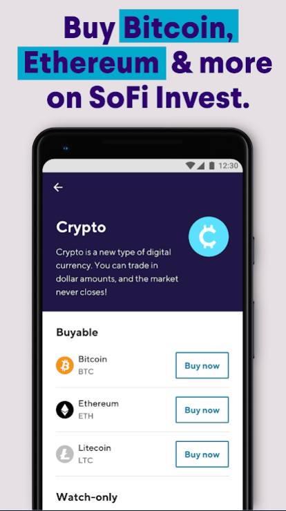 Sofi Invest app