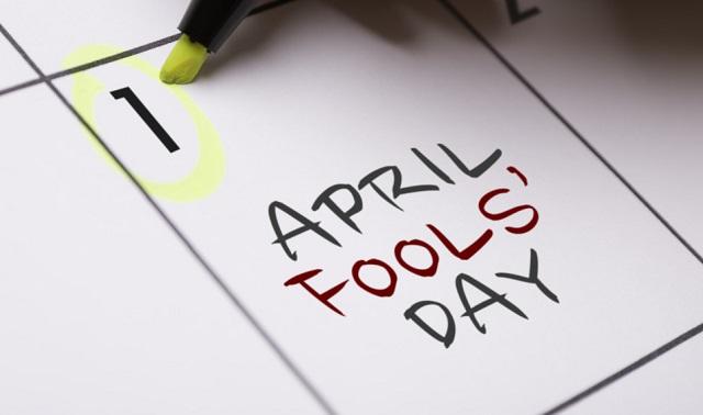 April fools day text images