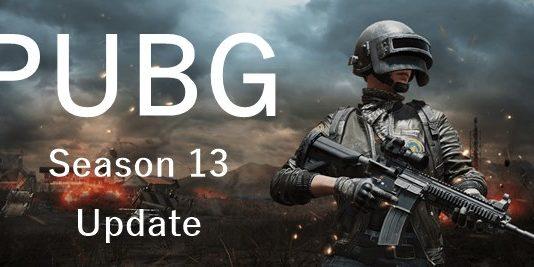 PUBG Season 13 update