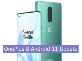 OnePlus 8 Android 11 update