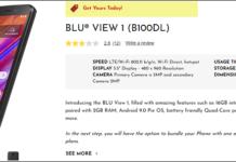 BLU View 1 Tracfone