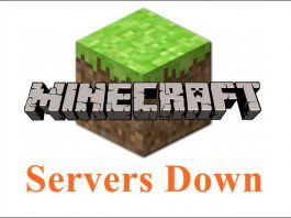 Minecraft server down issues